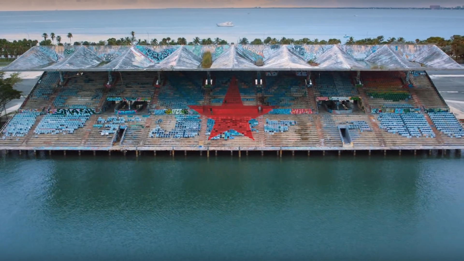 Heineken 'Miami Marine Stadium'<br><br>Director Romain Chassaing<br>Producer Cédric Troadec<br> Production Co Solab / Area 64